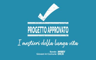 """Announcement """"GIOVANI IN COMUNE""""- Project """"I MESTIERI DELLA LUNGA VITA"""""""