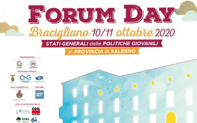 FORUM DAY – GENERAL STATES OF YOUTH POLICIES IN THE PROVINCE OF SALERNO