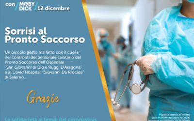 "Moby Dick ETS engaged in the project ""Sorrisi al Pronto Soccorso"""